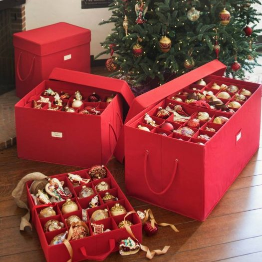 storing holiday decor_organize your home